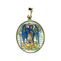 304-305H2 Archangels Medallion side B Michael