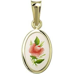 003H Red Rose Medal