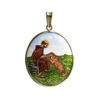 František z Assisi největší madonka