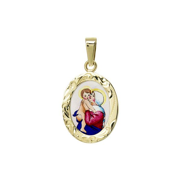 149R Madonna with Child Medal
