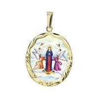 Nanebevzetí Panny Marie největší medailon