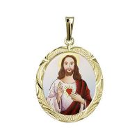 Nejsvětější Srdce Ježíšovo největší medailon