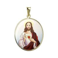 Nejsvětější Srdce Ježíšovo největší medailonek