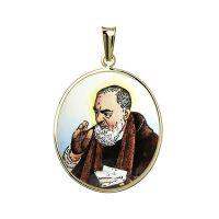 Otec Pio medailon