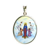 Nanebevzetí Panny Marie největší medailka