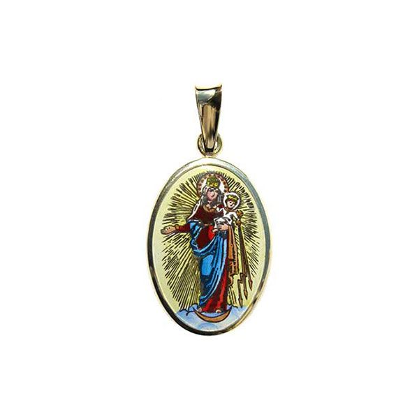 435H Our Lady of Hostyn medal