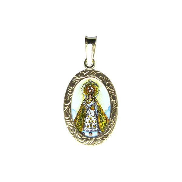 402R Our Lady of Manaoag medallion