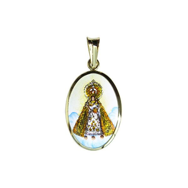 402H Our Lady of Manaoag medal