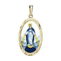 Panna Maria Zázračná největší medailon