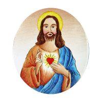 Polotovar 399 Nejsvětější Srdce Ježíšovo modrý