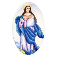 Polotovar 588 Panna Maria Neposkvrněná
