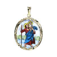 Sv. Kryštof medailon