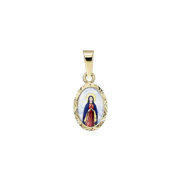 022R Holy Mary medal