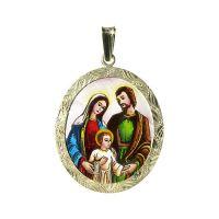 Svatá rodina největší medailon