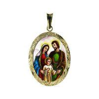 Svatá rodina velký medailon
