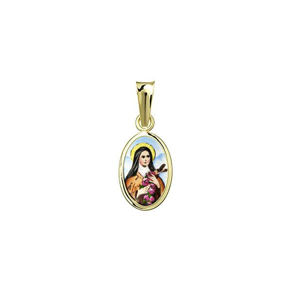 032H St Therese medallion