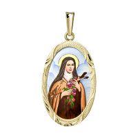 Svatá Tereza největší medailon