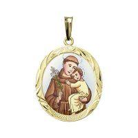 Svatý Antonín největší medailon