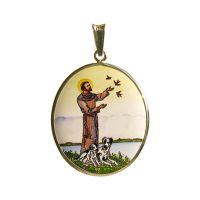 Svatý František z Assisi největší madonka