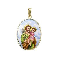 Svatý Josef velký medailonek