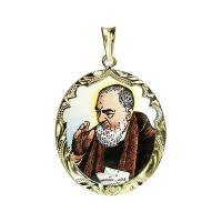 Svatý Pio z Pietrelciny největší medailon