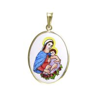 258H Madonna with Child Medal