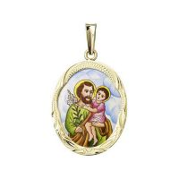 Svatý Josef velký medailon
