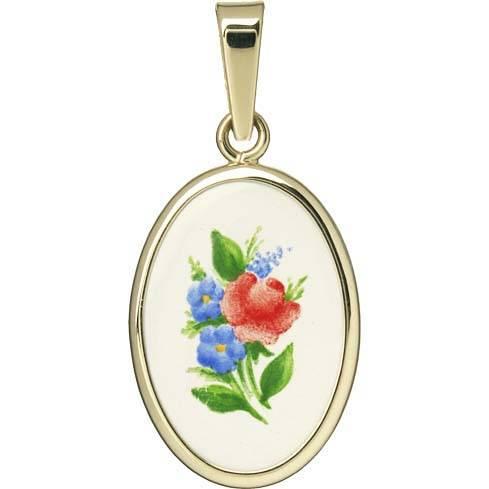 Floral Motif Medal