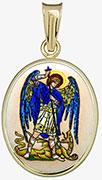Archanděl Michael madonka, patron policistů a bezpečnostních sil