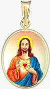 Nejsvětější Srdce Ježíšovo zlatá madonka
