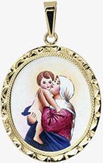 Panna Marie Matka Dobré Rady madonka