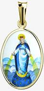 Zázračná madonka Panny Marie