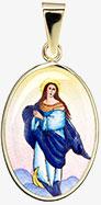 Přívěšek Panny Marie Neposkvrněného početí