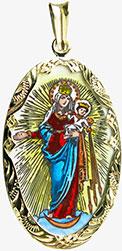 Zlatá madonka Panny Marie Svatohostýnské