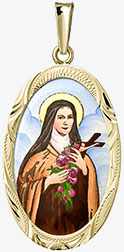Medailon svaté Terezy